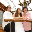 Stock Photo: On the sailboat