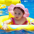 Stock Photo: Small girl in pool