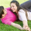 Happy young couple — Stock Photo #3720790