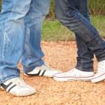 pés de casais — Foto Stock #3720855