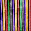 Royalty-Free Stock Photo: Colorful bamboo