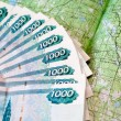 Money for a map — Stock Photo #3485764