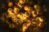 Yellow texture, circle bokeh — Stock Photo