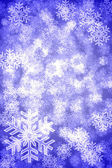 Snowflake background — 图库照片