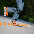 Style slalom — Stock Photo