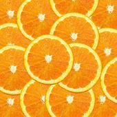 Colored oranges — Stock Photo