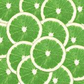 Lemon lime background — Stock Photo