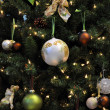 Stock Photo: Christmas tree decoration with christma
