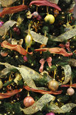 Colored Christmas tree decoration — Stock Photo
