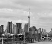 The view of Toronto city — Stock Photo
