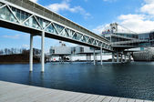 Bridge to Ontario place — Stock Photo