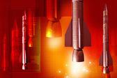 Rocket — Stock Photo