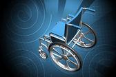 Wheelchair — Foto Stock
