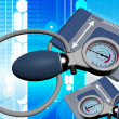 Stock Photo: Sphygmomanometer