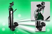 Sauerstoff-flasche — Stockfoto