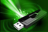 USB flash drive — Stock Photo