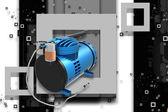 Air Compressor — Стоковое фото