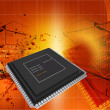 Semiconductor — Stockfoto