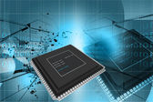 Semiconductor — Foto de Stock