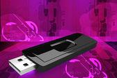 USB flash drive — Stock Photo