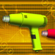 Heat gun — Stock Photo