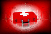 Caja de primeros auxilios — Foto de Stock