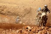 Enduro race at the erzberg — Stock Photo