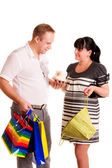 Happy shopping — Stock Photo