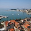Split harbour (Croatia) — Stock Photo