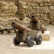 Old cannons in Quseir (Egypt) — Stock Photo