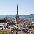 Stock Photo: Zurich from the top