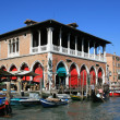 Stock Photo: Old Market in Venice