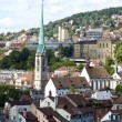 View of Zurich — Stock Photo