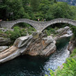 Ancient stone bridge - Stock Photo