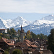 Swiss village - Stock Photo