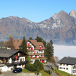 Stock Photo: Alpine village
