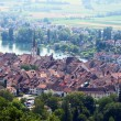 Stein-An-Rhein from the top — Stock Photo
