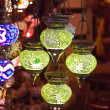 Traditional turkish lamps — Stock Photo
