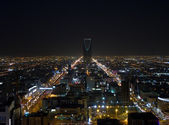 Night view of Riyadh — Stock Photo