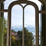 Alpine view — Stock Photo