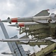 Anti aircraft missiles — Stock Photo #3139071