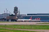 Aeroporto de Zurique — Fotografia Stock