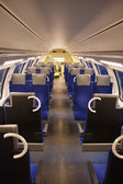 Train interior — Stock Photo