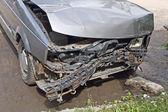 Carro danificado — Foto Stock