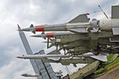 Anti aircraft missiles — Stock Photo