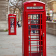Red telephone booth in London — Stock Photo #3160274