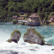 Rheinfall waterfall - Stock Photo