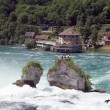 Rheinfall waterfall — Stock Photo