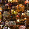 Traditional turkish lamps — Foto Stock