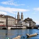 Zurich cityscape — Stock Photo #3160594